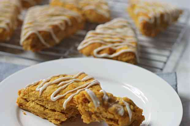 Pumpkin-Spice-Scones-Fresh-From-Oven