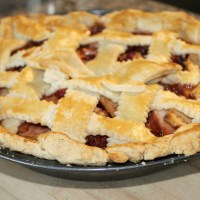 Cranberry Apple Pie Recipe - With Homemade Crust!