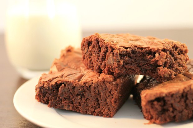 Fudgey-Nutella-Brownies