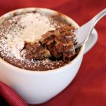 Microwave Mug Cake Recipes Salted Caramel And Chocolate Brownie The Olive Blogger