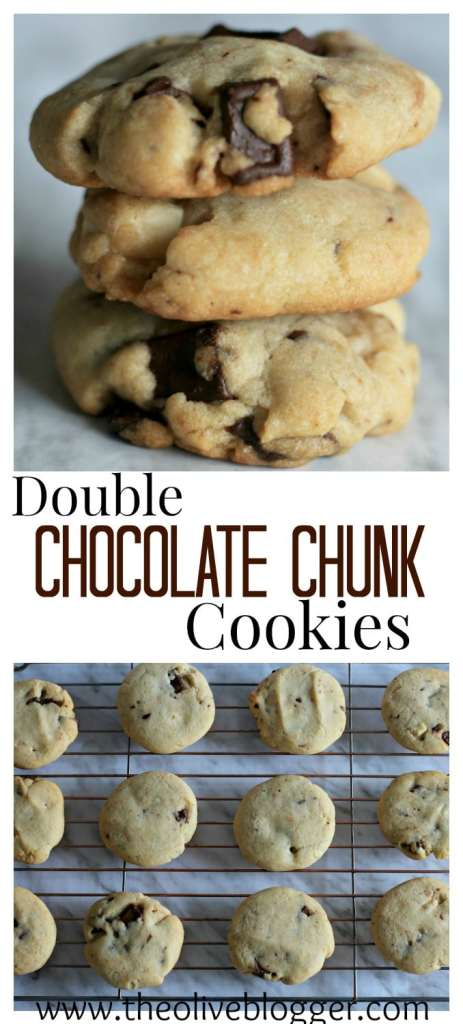 Whether you're an experienced baker or new to the game, these Chocolate Chunk Cookies will be a new family favorite! Perfectly chewy and fully loaded with both white and semi-sweet chocolate chunks!