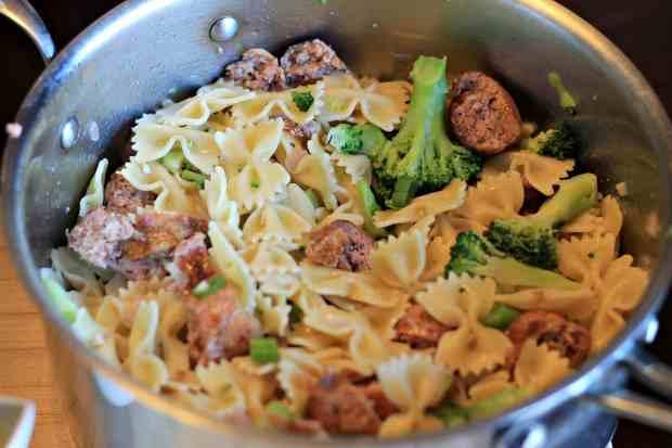 Broccoli-Sausage-Farfale