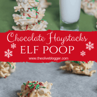 Elf Poop Cookies - A White Chocolate Haystack Recipe