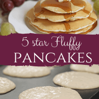 5 Star Fluffy Pancakes