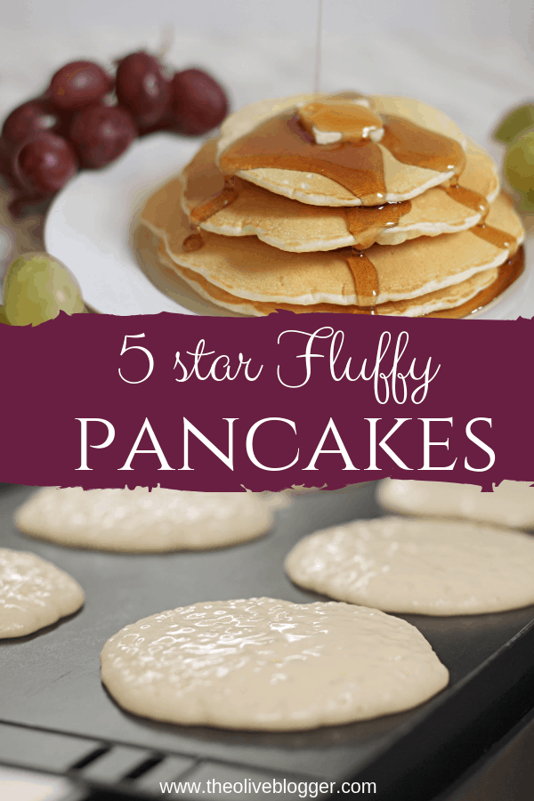 Easy Fluffy Pancakes Recipe