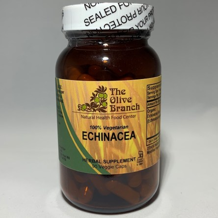The Olive Branch Echinacea 90 Veggie Capsules