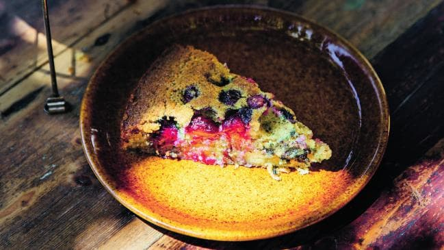 Blueberry & Olive Oil Torte