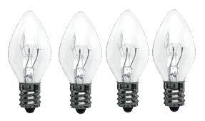 Spare Bulb 15 watt - 4 pack