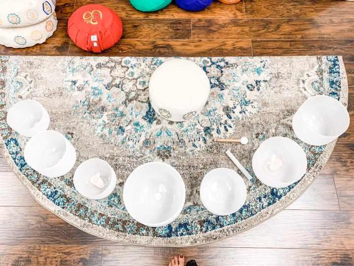 crystal singing bowls root chakra