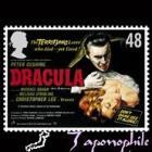 Christopher Lee Dracula Stamp