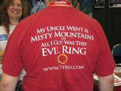 A T-shirt from LOTRO.com