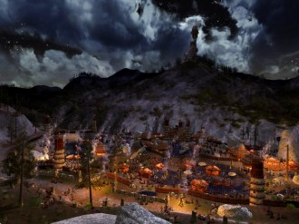 LOTRO: Rise of Isengard Expansion – First Screens of Orthanc and Gap of Rohan 1/6