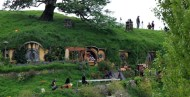 A film crew invades the peaceful Shire.