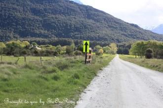 The Hobbit on location: public road access