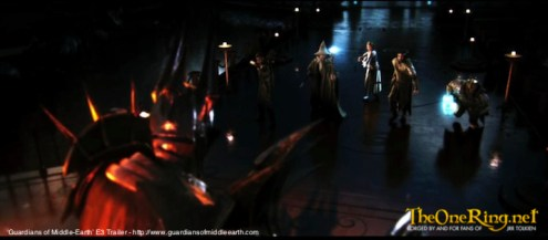 Guardians Of Middle Earth Video Game, E3 2012_Sauron vs Good-imp