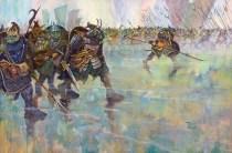 Roiad to Minas Tirith by Tim Kirk