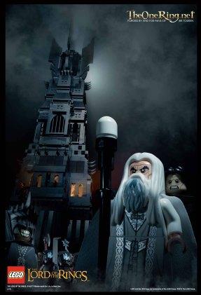 LEGO Tower of Orthanc