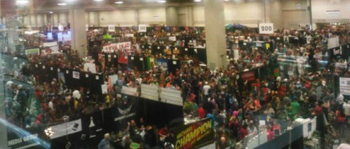 Crowds at SLCC 2013