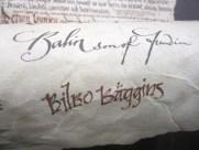 Bilbo's contract reporduction