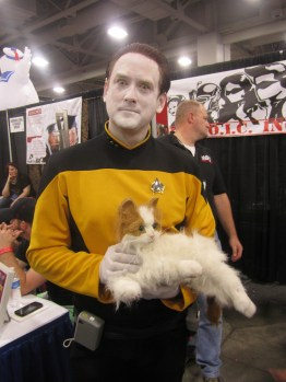 Data of Star Trek, SLCC 2013.