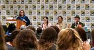 TheOneRing.net's panel: What's Next for Tolkien Fans? Left to right: Garfeimao, Kili, Sarumann, and QuickBeam!