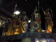 I hear these actual costumes from the LOTR films have the smell to prove it!