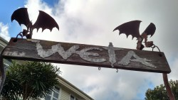 The entrance to the Weta Cave