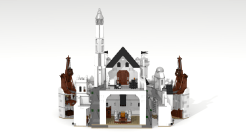 New Minas Tirith back