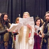 Elf Choir performing at Evening at Bree - photo courtesy of Geek Behind the Lens