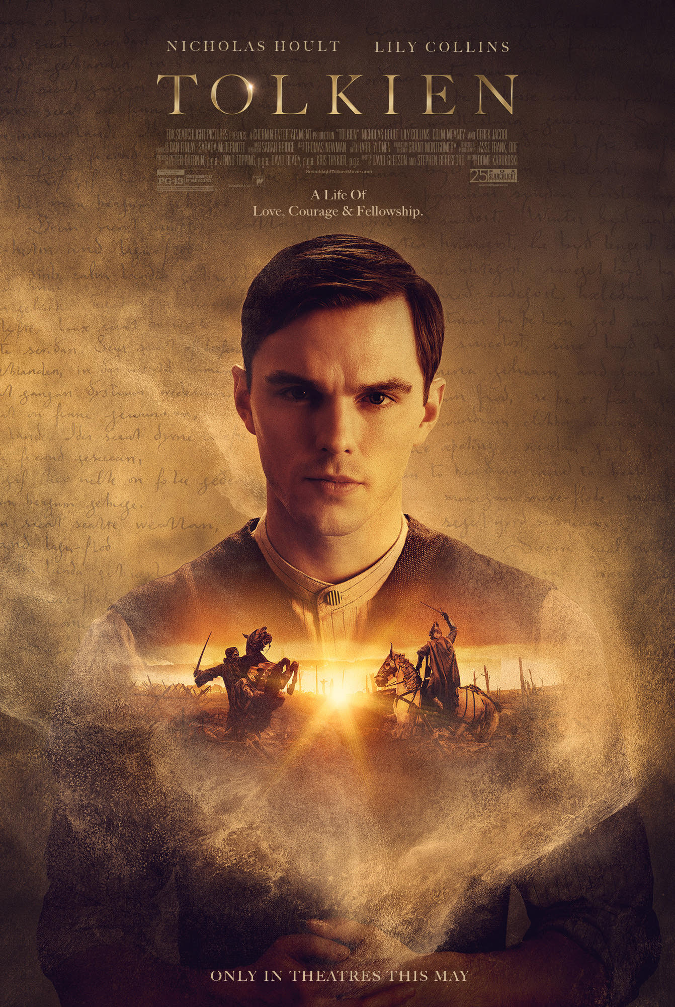 Image result for Tolkien movie poster