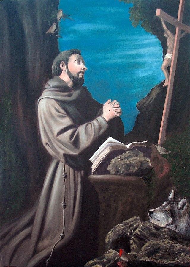 Franz von Assisi beim Gebet (San Francesco d'Assisi in preghiera)