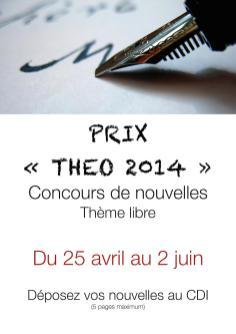 Affiche prix de Théo 2014