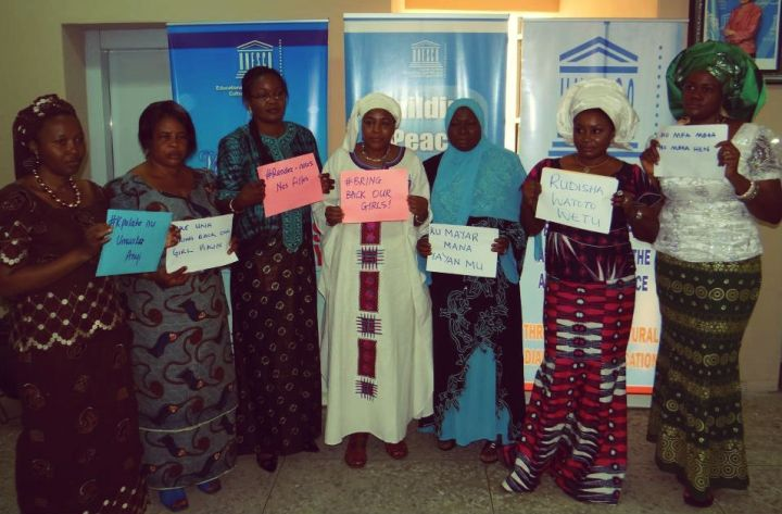Bring back our girls in different languages - ©UNESCO Africa https://www.flickr.com/photos/unescoafrica/14294844203/