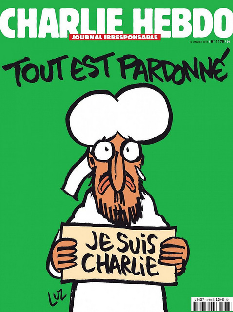 Je Suis Charlie; Tout Est Pardonne -© ^~^Pointyears www.flickr.com/photos/pointyears/16271059135