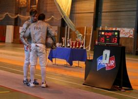 Quentin Vervoitte et Hugo Soler Finale Dijon 2015 ©Fabrice Roussel