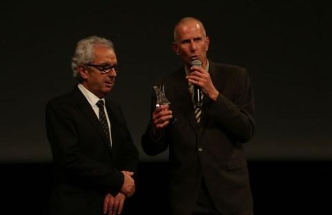 Marc Brüning avec Michel Pélieu, président du CD65 - © Louis Lefèvre