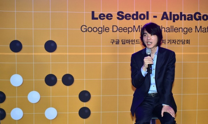 Lee Sedol AlphaGo © http://www.clubic.com/mag/sciences/actualite