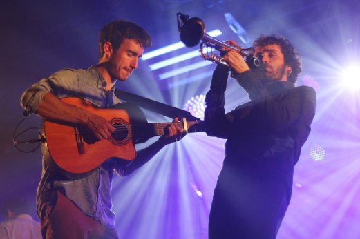 Florent Dasque Manu Aurousset - Concert BDA Tarbes 2016 © Tom&Louis Lefèvre