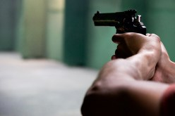 Gun revolver fire