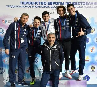 Championnat Europe Sotchi 2018 - Podium ©FFE-Augusto Bizzi