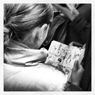 Lectrice Manga ©Flickr