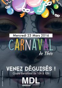 Affiche Carnaval 2016 MDL ©Louis Lefèvre