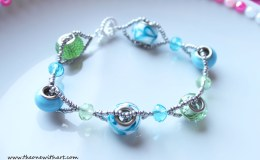 Double Strand Crossing Bracelet