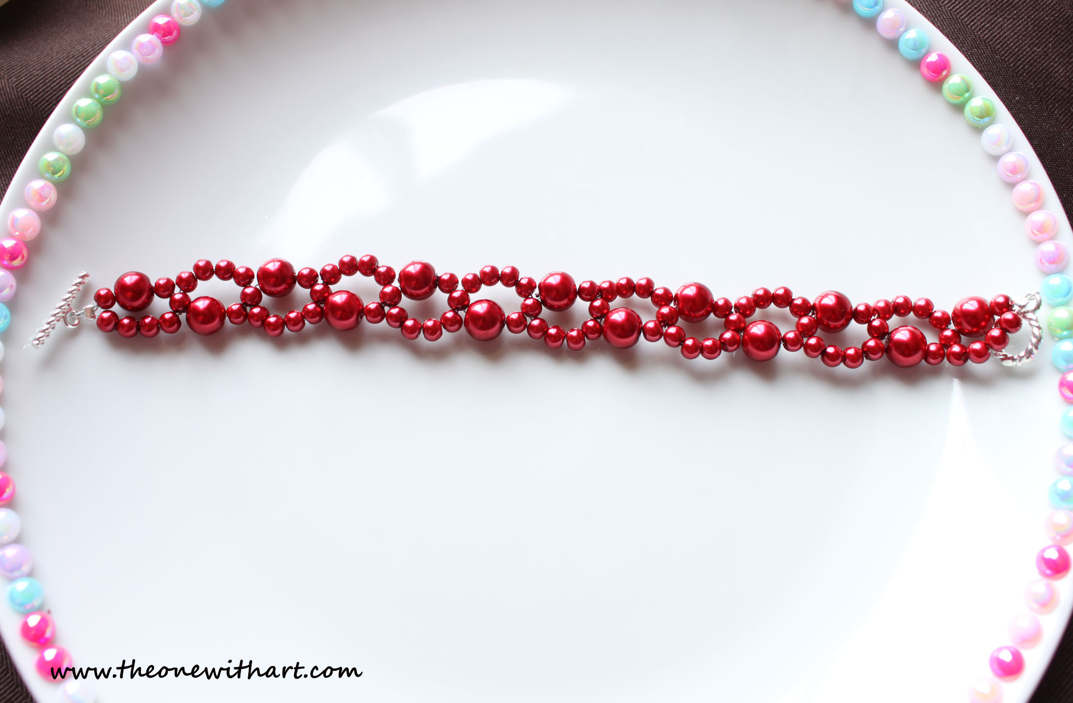Double Wire Beaded Bracelet, Mother\'s Day Gift Ideas
