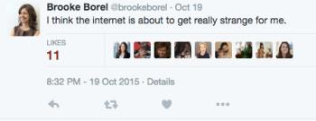 Borel.internet strange