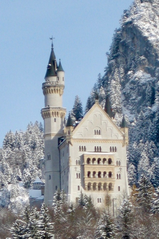 Besides visiting a Munich beer hall, Bavaria has castles to tour, like Neuschwanstein.