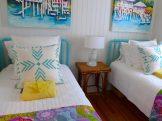 Jane Coslick cottage bedroom Tybee