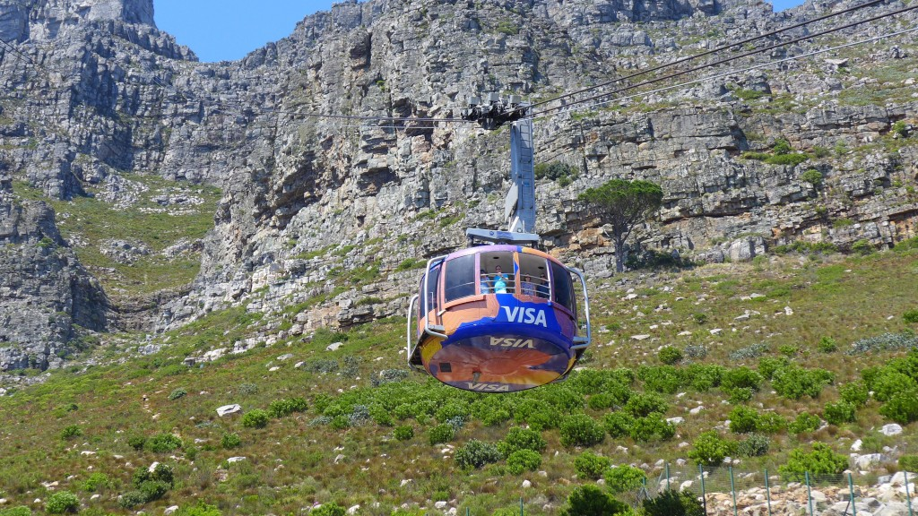 Hire a local tour guide for special experiences like riding the cable car to the top of Table Mountain