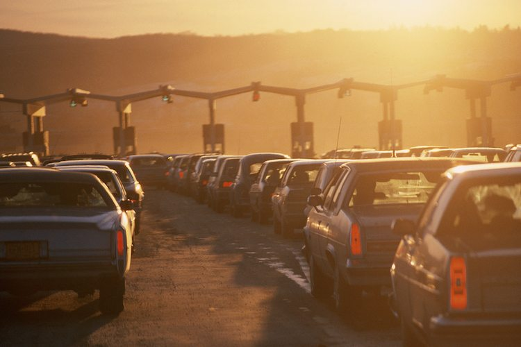 3-second quick fix for a bad mood - try talking to a toll collector