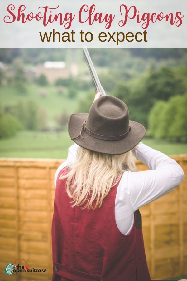 Curious about shooting clay pigeons? Here's what you can expect the first time you try it. #weekendfun #hobby #emptynest | The Open Suitcase | Hudson Valley | Weekend Activities | Empty Nest
